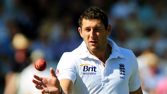 Tim Bresnan picked up two wickets for England