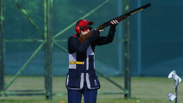 Shooting - Newenham pleased with Allen and Hill at worlds