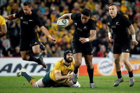 Australia Rugby Union - Bledisloe Cup - Australia's Wallabies v New Zealand All Blacks - Olympic Stadium, Sydney