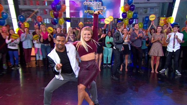 Good Morning America Watch Live : Dwts champ alfonso ribeiro performs live watch the
