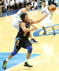 Rain or Shine's Beau Belga goes after the ball. (PBA Images)