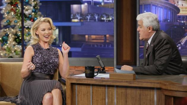 Katherine Heigl visits 'The Tonight Show with Jay Leno,' Dec. 20, 2012 -- NBC
