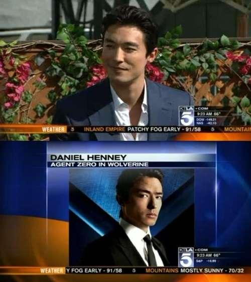 Daniel Henney Sits Down for a Live Interview with KTLA
