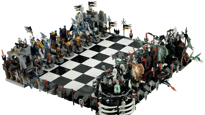 Lego castle chess