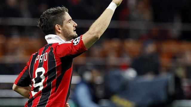 Serie A - Pato leaves Milan for Corinthians