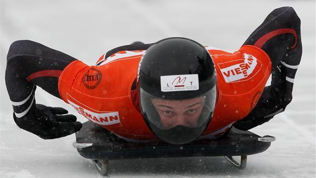 Skeleton - Dukurs closes on title after Whistler win