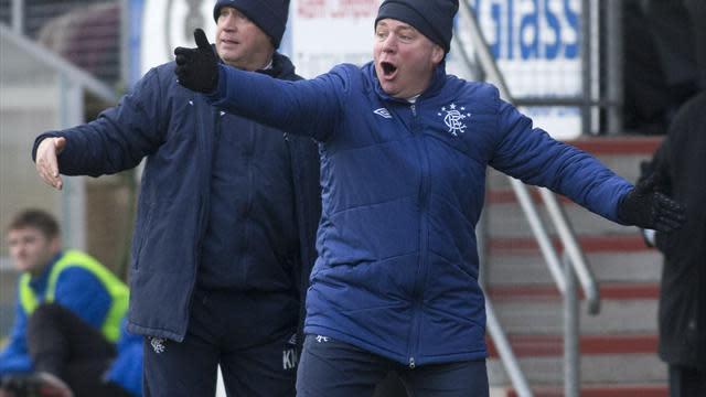 Football - McCoist salutes battling Blues