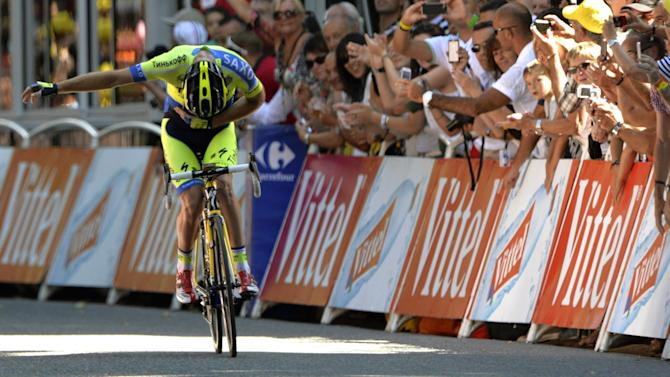 Tour de France - Rogers victorious as Pinot knocks Bardet off podium