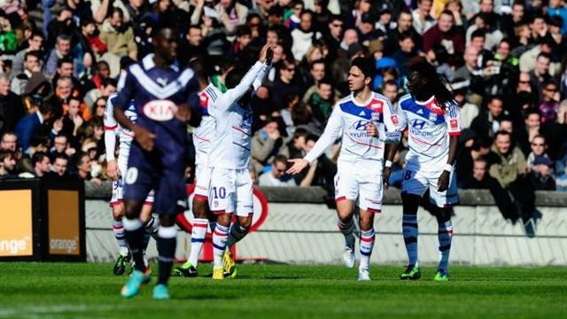 Ligue 1 - Grenier on target as Lyon thrash sorry Bordeaux