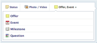 Facebook Posting Options   Beginners Guide image Screen shot 2013 01 31 at 1.57.18 PM