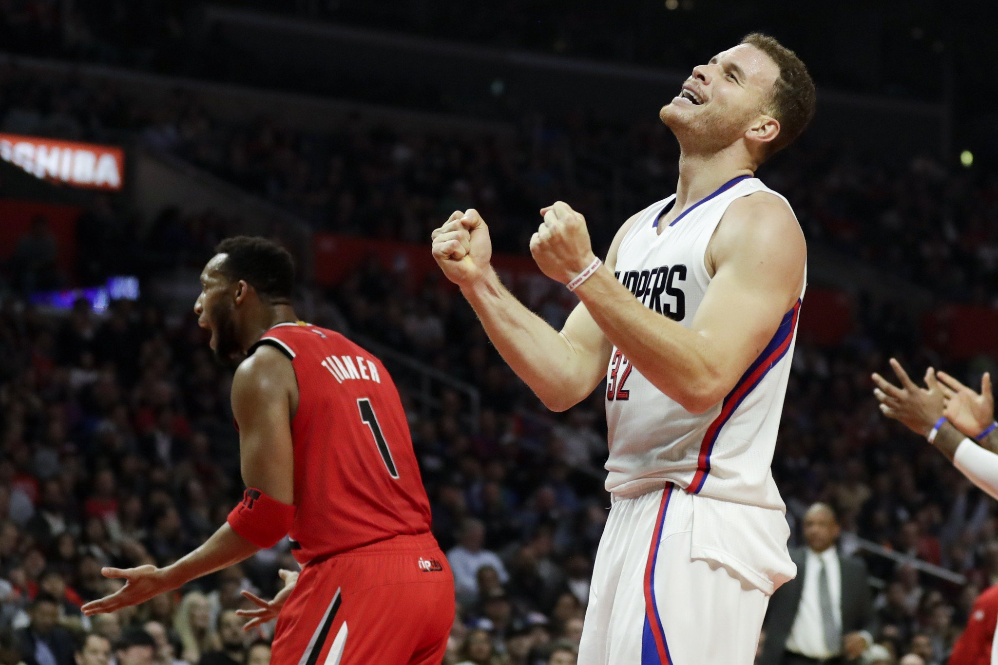 Blake Griffin is overcome with emotion at the prospect of his return. (AP)