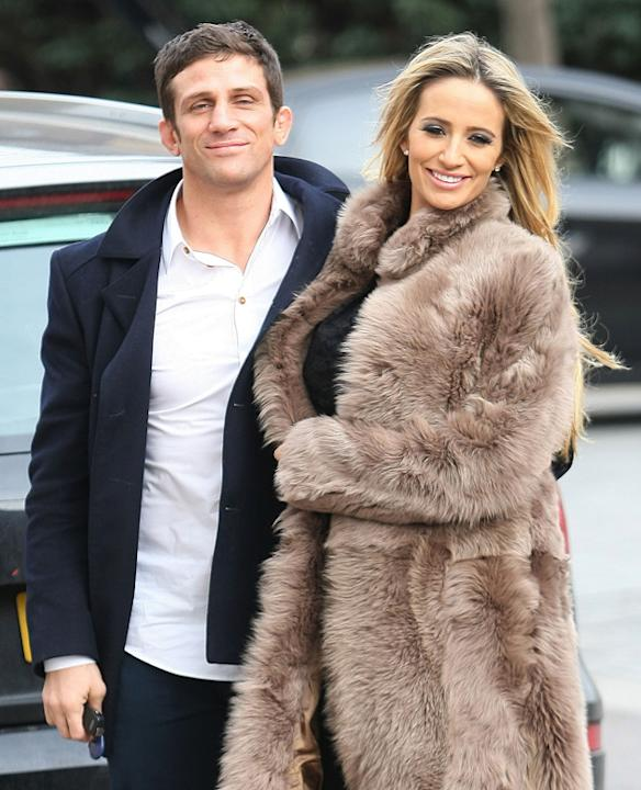 Celebrity splits 2012: Chantelle Houghton and Alex Reid had a whirlwind year in which they got engaged, had a baby and broke up. However, things turned very sour with Chantelle having a complete Twitt