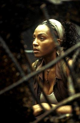 Nona Gaye as Zee in Warner Brothers' The Matrix: Revolutions