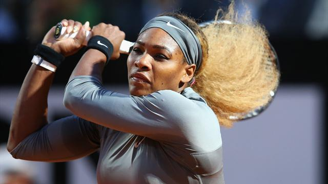 Tennis - Easy for Serena in Rome