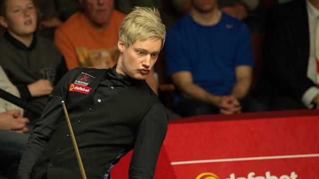 Snooker - Magnificent Robertson hits 100th ton in win over Trump