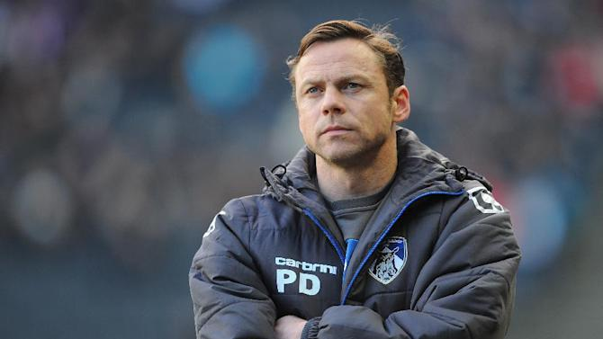 Paul Dickov claimed he ended conversations with Crawley quickly