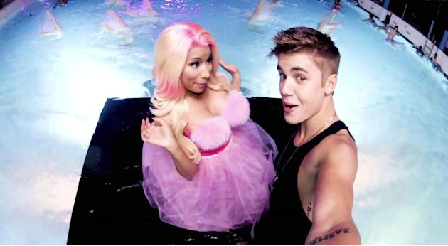 Justin Bieber y Nicki Minaj 'Beauty and A Beat'