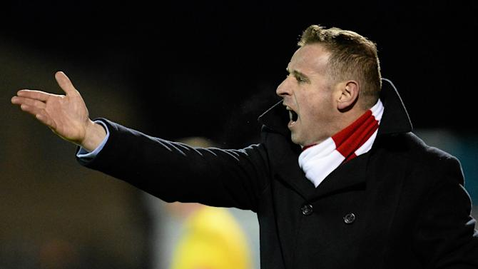 Sligo Rovers boss Robertson 'delighted' with loan signing Stevens
