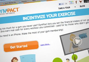 Get your App to the gym! Gym-Pact is an App that fines you for missing the gym and rewards you for showing up.