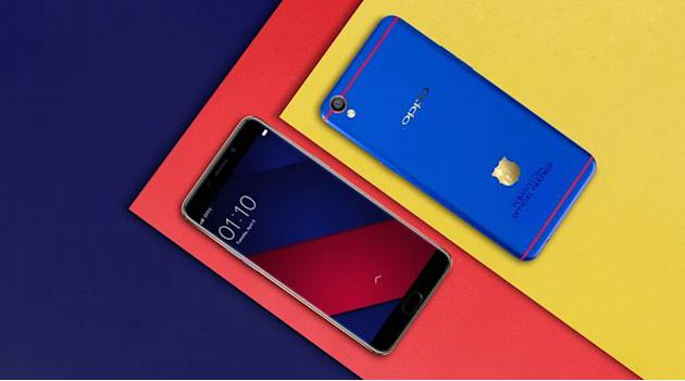 Oppo F1 Plus FC Barcelona Edition with 18K gold-plated club insignia launched