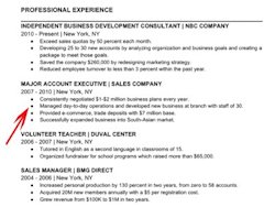 what to put under accomplishments on a resume