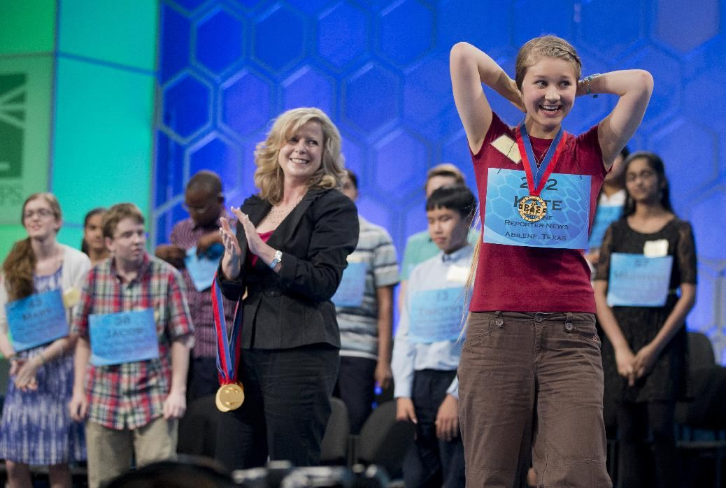 Scripps National Spelling Bee, Thursday, May 29, 2014, at National