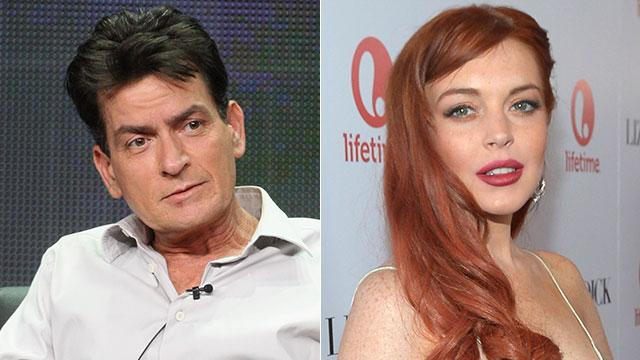 Exclusive: Sheen Explains Why He Roots for Lohan