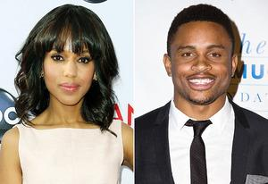 Kerry Washington, Nnamdi Asomugha | Photo Credits: Frederick M. Brown/Getty Images, Vincent Sandoval/FilmMagic
