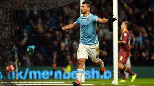 FA Cup - Aguero scores hat-trick as City battle back from two down