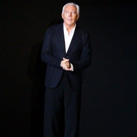 Giorgio Armani discusses health woes