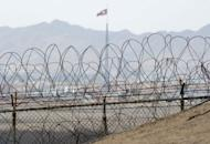 North Korea's propaganda showcase village of Gijeongdong pictured from the Demilitarized Zone near Panmunjom on the border with South Korea. North Korea has apparently finished preparations for a third nuclear test and is awaiting a political decision to go ahead, a South Korean nuclear expert says