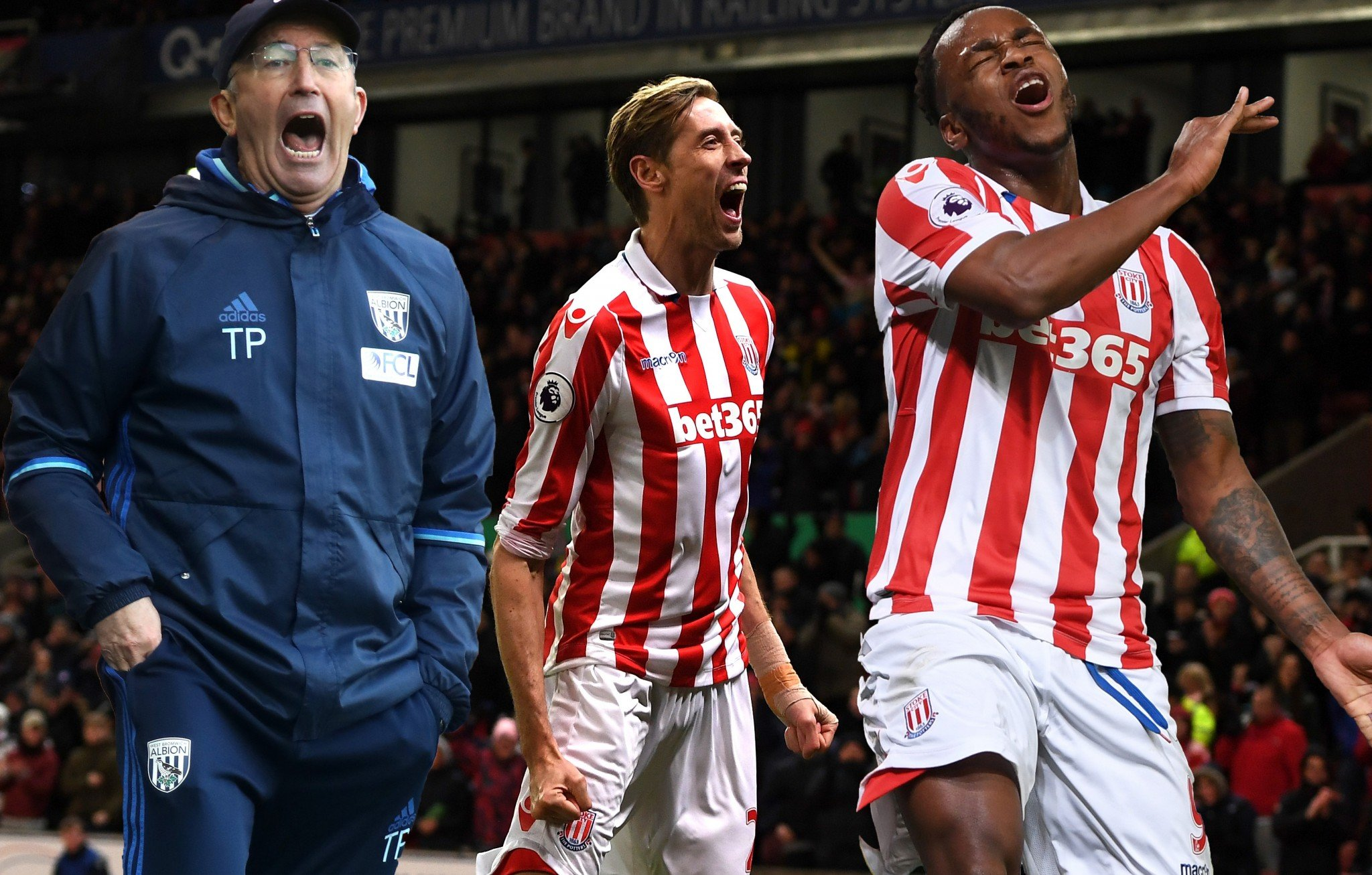 Tony Pulis fears Stoke's in-form Peter Crouch than his ex-striker Saido Berahino
