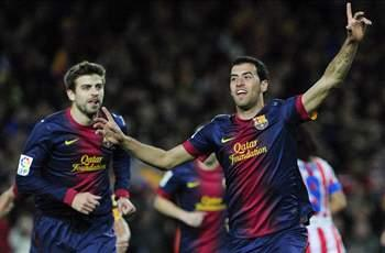 Busquets lauds 'complete' Barcelona after Celtic win