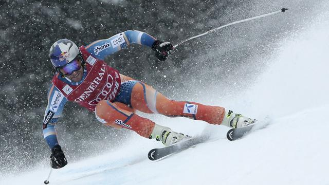 Alpine Skiing - Jansrud takes Kvitfjell win but Svindal secures Super-G title