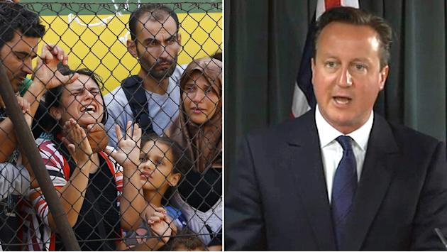 Britain To Take In '4,000' Refugees From Syria