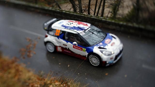 WRC - Bouffier stays ahead in Monte Carlo