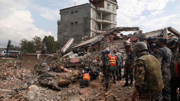 A powerful aftershock shook Nepal on Sunday, sending panicked Kathmandu residents running into the streets a day after a massive earthquake left more ...
