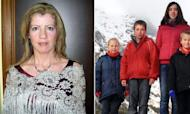 Hunt For Four Children Missing With Mother