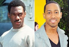 Eddie Murphy, Brandon T. Jackson | Photo Credits: Paramount/The Kobal Collection, Alberto E. Rodriguez/Getty Images