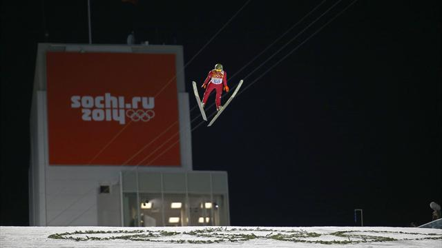 Ski Jumping - Poland's Stoch wins large hill, completes rare double