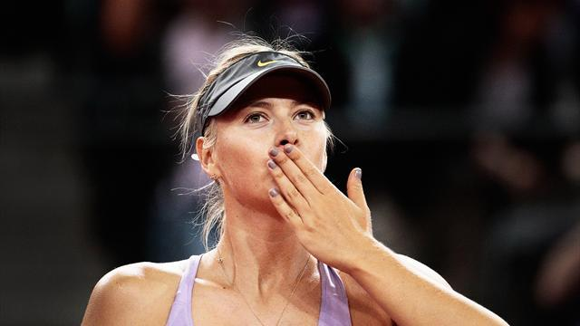 Tennis - Sharapova cruises into Stuttgart final, to face Ivanovic