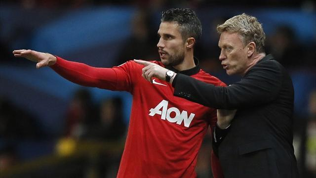 Premier League - Moyes: RVP is happy at United