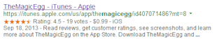 Semantic Markup: Adding Context To SEO image Product Markup Magic Egg iTunes