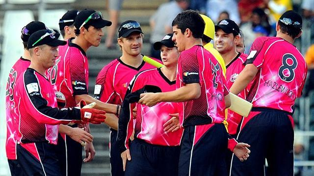 Cricket - Sydney Sixers thrash Yorkshire in Cape Town