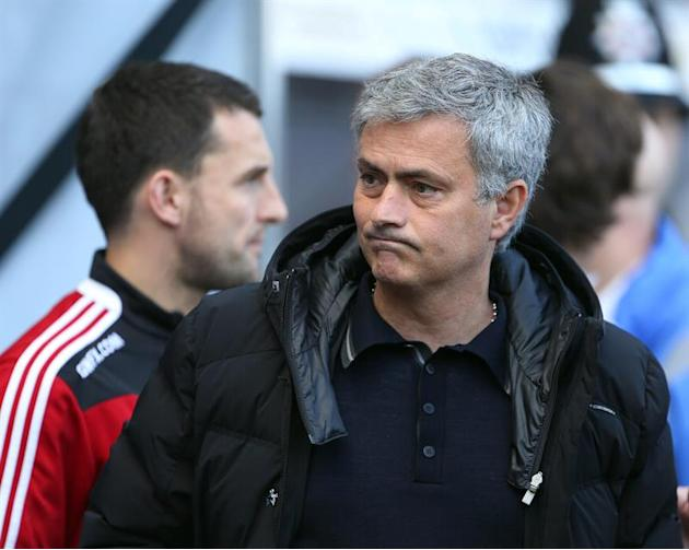 CAD 01. Swansea (Great Britain), 13/04/2014.- Chelsea manager Jose Mourinho during the English Premier League soccer match played between Swansea City AFC and Chelsea FC in Swansea, Britain, Sunday 13