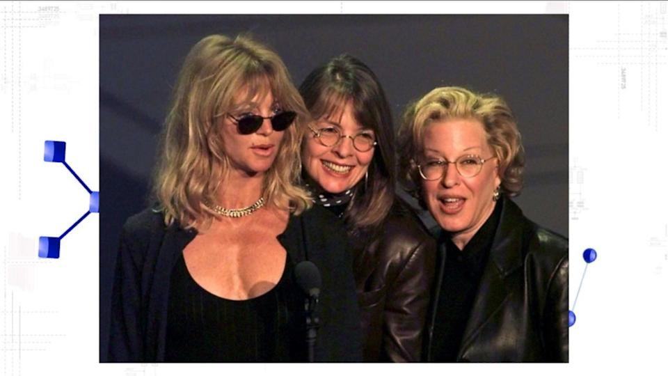Goldie Hawn, Bette Midler and Diane Keaton Reportedly Reuniting for Netflix Comedy