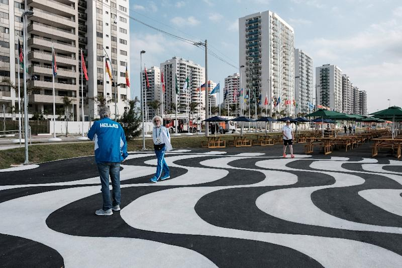 Athletes, including Brazilians, are staying in hotels rather than the Olympic and Paralympic Village in Rio de Janeiro, because of problems such as blocked toilets and leaky pipes (AFP Photo/Yasuyoshi Chiba)