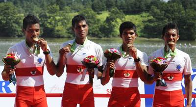 Asian Games (Rowing) - Tanzil Puas Dengan Perunggu