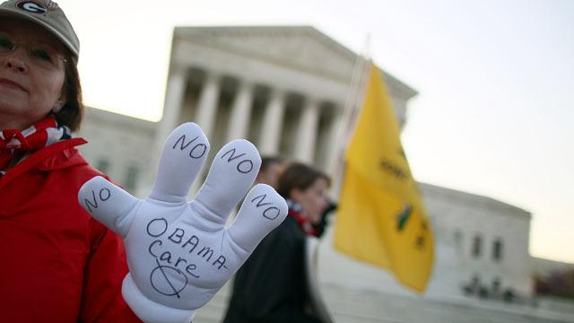 New Low in Support for Health Law; Half Expect Justices to Go Political
