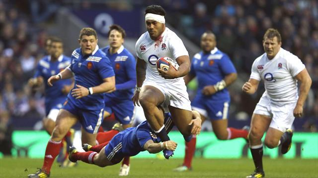 Six Nations - England wear down France to keep Grand Slam hopes on track